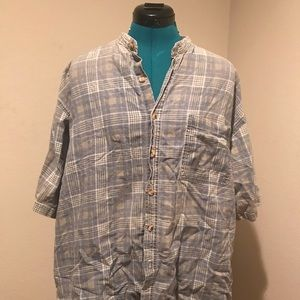 Men's button up 1990s faded glory xl casual shirt